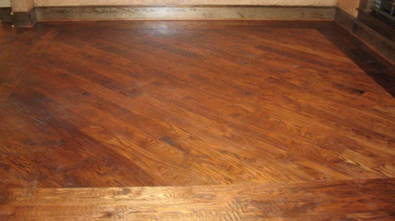 red oak hardwood floor